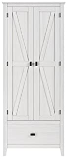 "SystemBuild Farmington 30"" Wide Storage Cabinet, Ivory Pine (B07CY8H86Y) | Amazon price tracker / tracking, Amazon price history charts, Amazon price watches, Amazon price drop alerts"