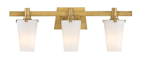 Designers Fountain Hyde Park 87903-VTG 3 Light Bathroom Vanity Light
