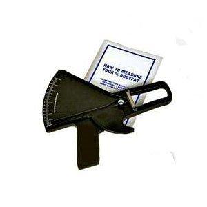 Slim Guide Skinfold Caliper in Black with Booklet