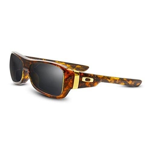 Black (Dark Grey) NON POLARIZED Replacement Lenses for Oakley - Montefrio Sunglasses