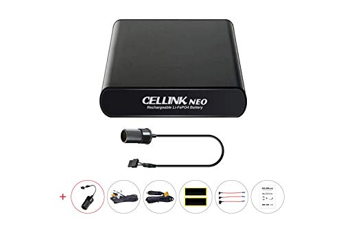 Cellink NEO Battery Pack | Smart Power Bank for Dash Cams | Supplies 24-48 Hours Battery Life to Your Dashboard Camera