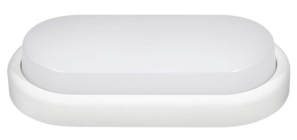 Fox Light - Ojo de Buey LED Oval 18 W con Sensor de Movimiento Integrado 1300 LM 4000 K 240 V - 601363: Amazon.es: Jardín