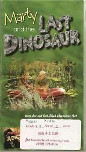 Marty and the Last Dinosaur ; Episode 2 ; Christian Creation Science Adventure