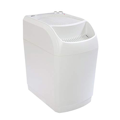 AIRCARE 826000 Space-Saver, White SpaceSaver Evaporative Humidifier for 2300 sq. ft