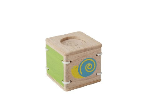 Plan Toys Planpreschool Baby First's Block - Feel And Sound