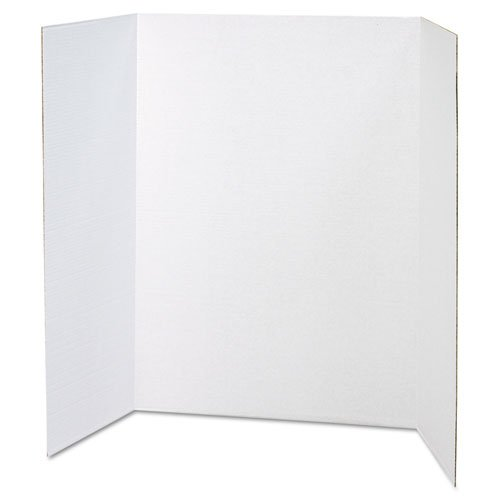 Walled Presentation Board - Spotlight Presentation Board, 48 x 36, White, 24/Carton, Sold as 1 Carton