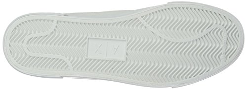 Armani Exchange X Sneaker Contrast Ultra A White 9550317A045 Texture Marine Mens qEUT5