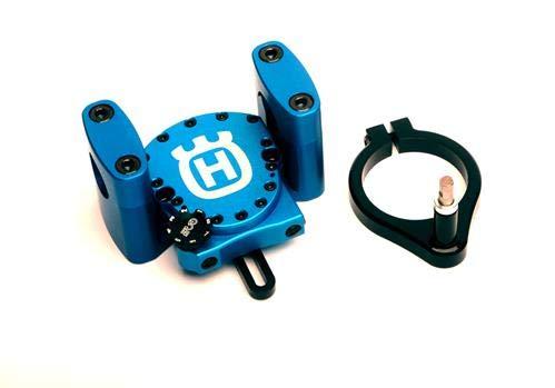 Husqvarna GPR V4 Steering Damper Kit Solid Mount 2016+ TE FE 125 150 250 300 350 450 501 -