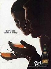 MAGAZINE ADV For Remy Martin VSOP Cognac Savor The Sense Of Remy (Martin Remy Cognac Vsop)