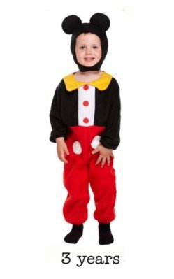 Henbrandt Fancy Dress Toddler Mouse BOY 3 YRS]()