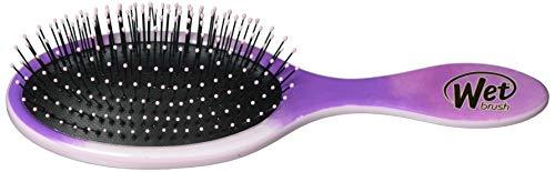 Wet Brush Hair Brush, Watercolor Purple