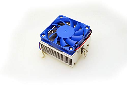 (*NEW* Blue Fin CPU Heatsink Fan Cooler Socket 462 7 A AMD XP Sempron Duron)