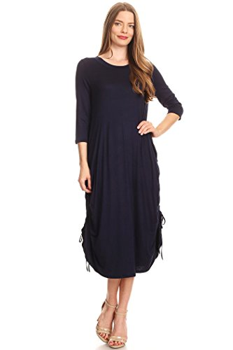h and m blue dress - 7