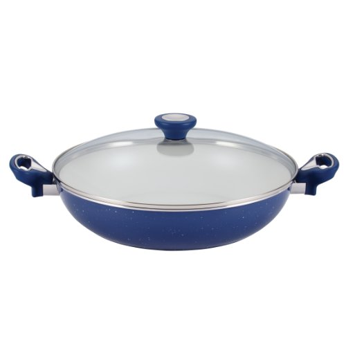 Farberware 16011 12.5 in. Covered Skillet With Side Handles