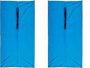 Abilitations Dynamic Movement Body Sox, Large, Lycra, Royal Blue (2-(Pack))