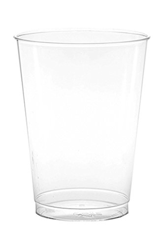WNA Comet 100 Count Clear Plastic Tumblers, 8 oz