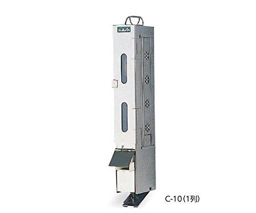 ナビス(アズワン)0-1150-01ブラシ消毒器C-10(1列用)ブラシ格納庫のみ B07BD3KHGQ