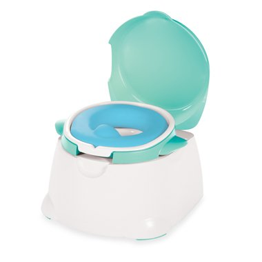 Safety 1st Blue Comfy Cushy Potty Trainer Toilet by Cosco