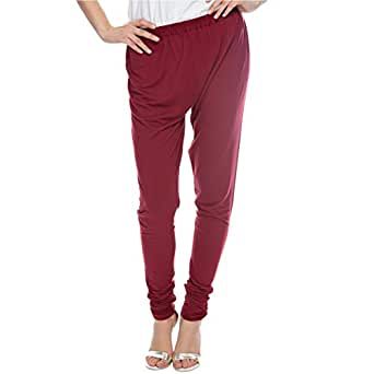 Sana'a Kayum Red Skinny Leggings Pant For Girls