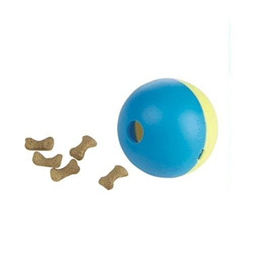 Play Ball Treat Dispenser Pet Cat Kitten Interactive Toy Food Feeder - Jonas Sunglasses Nick