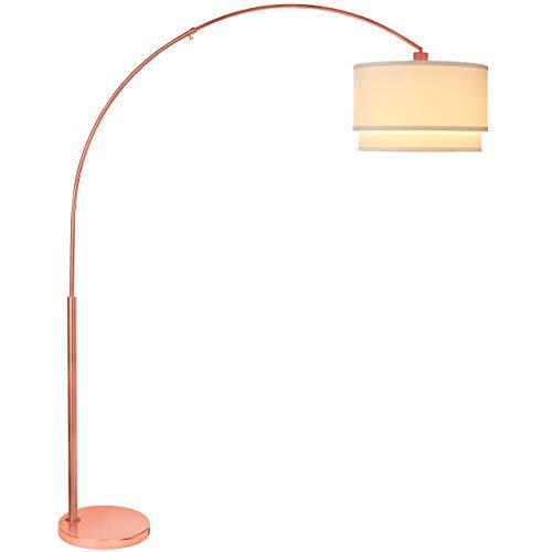 Brightech Mason Led Arc Floor Lamp Modern Standing Light