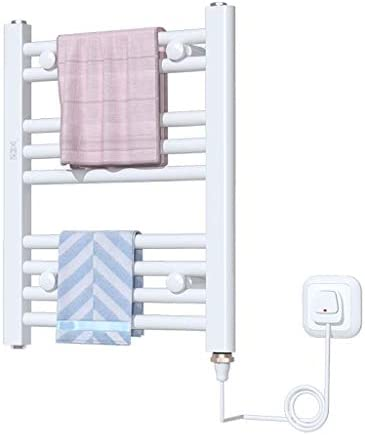 電気タオルラックの乾燥は火傷を防ぎます省エネのラジエータータオルラックの浴室の衣服の乾燥の棚150w、500 * 400 * 350mm