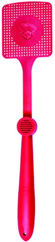 Talking Fly Swatter - Novelty Funny Swatter with Built in Speaker Speaks 5 Phrases Pest Control Plastic Swat for Home Or Office Colors Vary by Ideas In Life