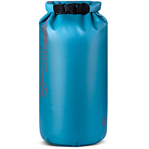 Ultimate Gear Bag - OutdoorMaster Dry Bag - Waterproof Floating Roll Top Dry Sack for Boating, Kayaking, Fishing, Swimming, Surfing, Rafting - Olympic Blue, 20L