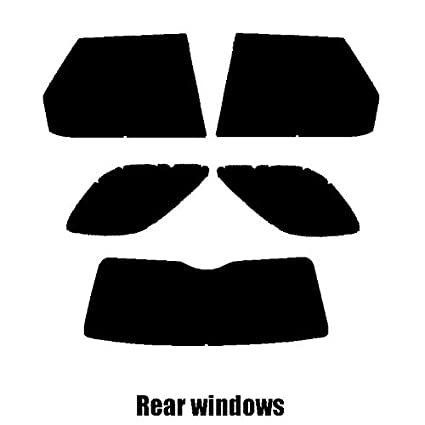 Landrover Discovery 4-2009 and newer Rear windows 20/% Dark Smoke Pre cut window tint