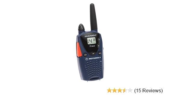 amazon com motorola talkabout fr60 2 mile 14 channel frs two way rh amazon com motorola talkabout fr60 user guide Motorola RAZR V3 Manual