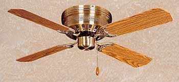 Classic hugger antique brass 42 inch ceiling fan amazon classic hugger antique brass 42 inch ceiling fan mozeypictures Gallery