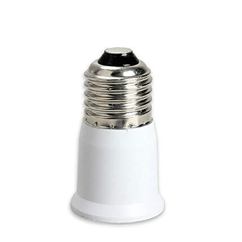 (2pcs) YiLighting - UL-listed E26/E27 to E26/E27 Extender - Standard Medium Socket E26/E27 to E26/E27 Lamp Bulb Socket Extender Extension Adapter