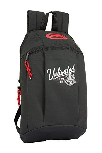 Safta Ecko Unltd Offizieller Mini-Rucksack für den täglichen Gebrauch 220 x 100 x 390 mm