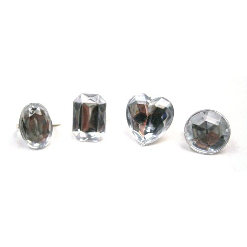 U.S. Toy Jumbo Crystal Rings
