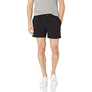 Amazon Brand – Goodthreads Men's Slim-Fit 5″ Inseam Flat-Front Comfort Stretch Chino Shorts