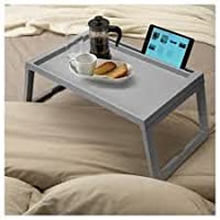 ShoppoZone Multi- Function Adjustable Laptop Table, Folding Bed Tray, Study Table - Multi Color