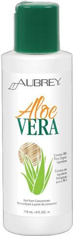 Aubrey Organics Pure Aloe Vera - Considered The Best Aloe Vera Gel * NSF Certified Organic - 4oz