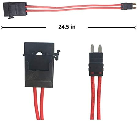 Amazon.com: Specialized ECU Repair Car Fuse Holder Connector - Mini ATM,  32V, 20 Amp, 16 Gauge, Red Wire Cable - Comfortably Tap and Test Automotive  Circuits, Perfect for Hard To Reach FuseboxAmazon.com