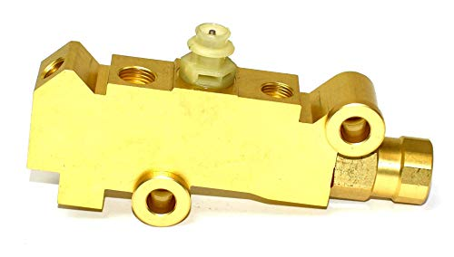 A-Team Performance Front Disc Rear Brake Brass Proportioning Valve Universal PV4