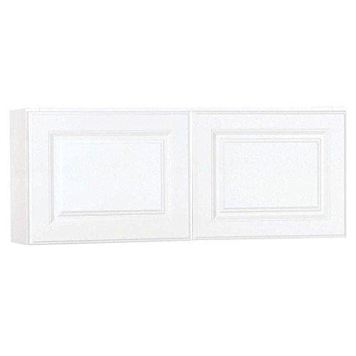 Hampton Bay 30x18x12 in. Wall Cabinet in Satin White ()
