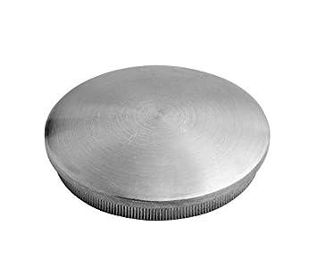 zum Einschlagen Endkappe flach für Rohr ø 33,7 x 2,0mm massiv