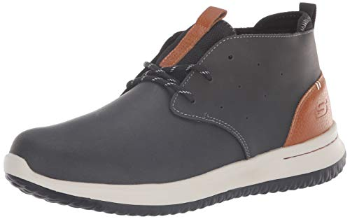 Skechers Men's Delson-Clenton Chelsea Boot