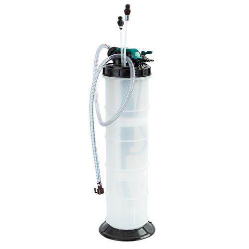 9.5L OEMTOOLS 24938 Pneumatic//Manual Fluid Extractor 2.5 Gallon