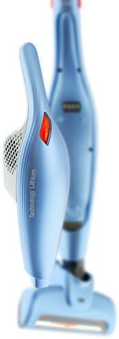 H.Koenig UP370 2-in-1 Upright Vacuum Cleaner, 0.6 Litre, Blue