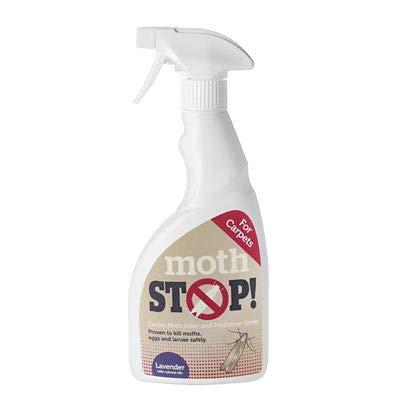 Lakeland Moth Stop Moth Killer Carpet & Fabric Spray, 500ml