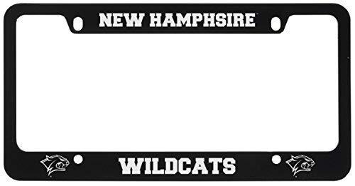 (University of New Hampshire -Metal License Plate Frame-Black)