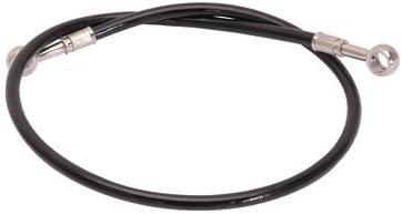 Galfer Rear Steel Braided Brake Line Standard Length Black for Suzuki LT-R 450 QUADRACER 2006-2009
