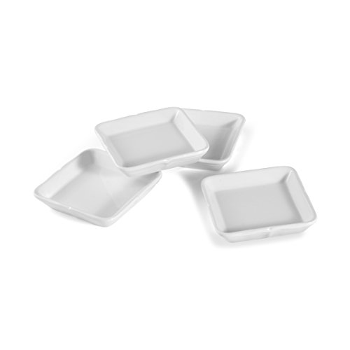 Mikasa French Countryside Square Dipping Plates, Set Of (Mikasa Square Plate)