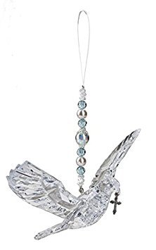Crystal Expressions Hanging Dove with Cross by Ganz ()