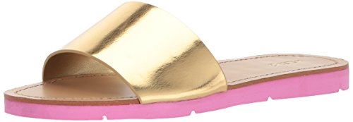 ALDO Womens Gwayni Flat Sandal Gold VAnWzAPD